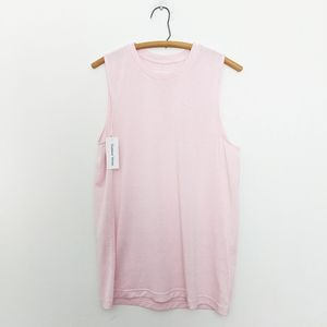 Outdoor Voices Tops - NWT Outdoor Voices EcoMesh Pink Muscle Tank Top